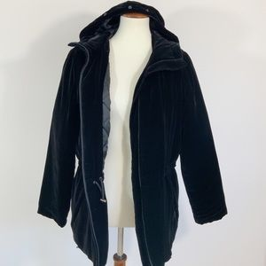 Ralph Lauren Traditional Winter Goods Velvet Coat